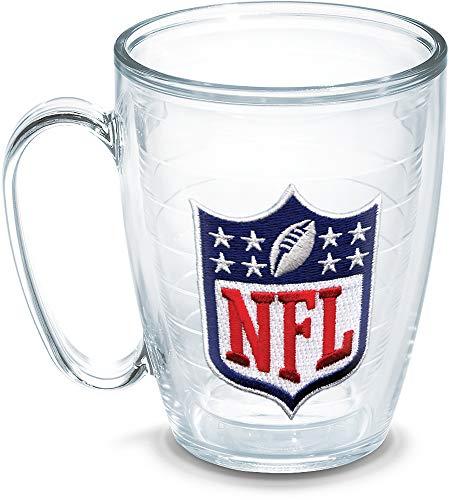 Tervis NFL Logo Shield Emblem Individual Mug, 16 oz, Clear