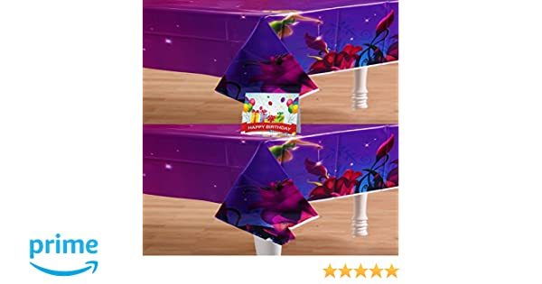 2-Pack Tinkerbell Fairies Girls Birthday Party Supplies Tablecover Multipack