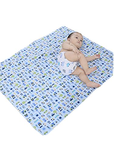 ZEFER Waterproof Reusable Changing Pad Baby Changing Mat for Diaper Change 27.5″x 31.5″