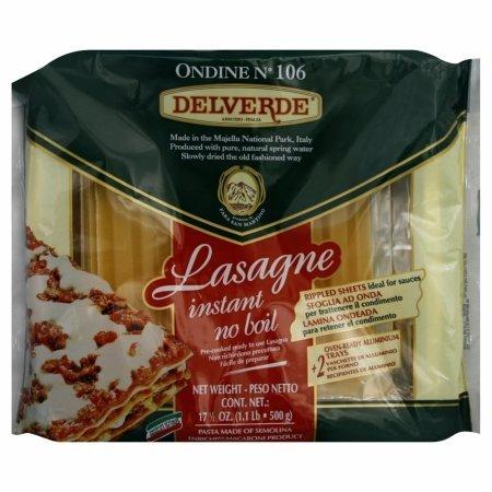 Del Verde Pasta Lasagne W Tray 16 oz (Pack Of 10)