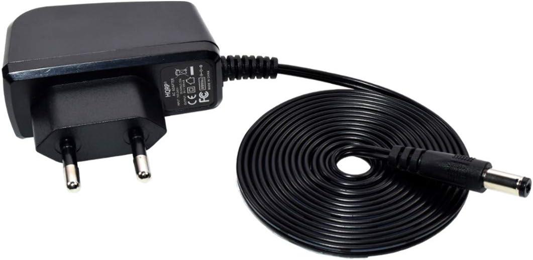 HQRP AC Adaptateur pour Zoom G1 G2 G1XNext G1X G1U G1Next GFX-1 GFX-5 Effets Guitare p/édales PSU Cordon dalimentation GFX-3