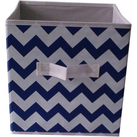 mainstays-collapsible-fabric-storage-cube-100-polyethylene-non-woven-solid-paper-board-set-of-2-blue