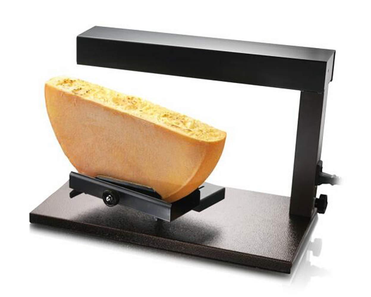 Zz Pro Commercial Cheese Melter Popular Swiss Dish Maker Raclette Demi Melting Machine 650 Watt Quick heating Anti-rusting