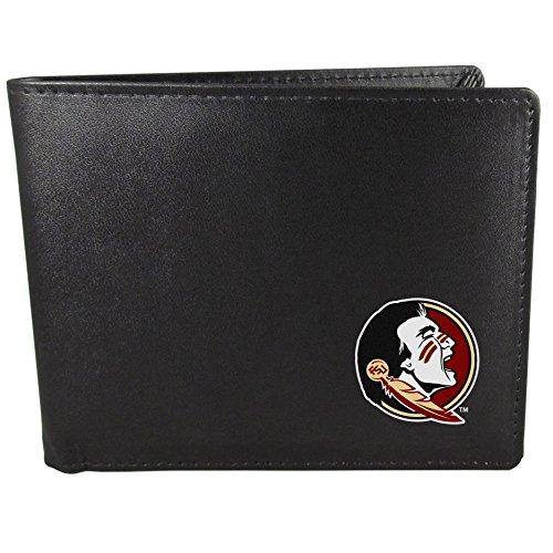 (Siskiyou NCAA Florida State Seminoles Bi-Fold Wallet, Black )