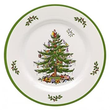 Image Unavailable. Image not available for. Color: Spode Christmas Tree  Melamine Dinner Plate ... - Amazon.com Spode Christmas Tree Melamine Dinner Plate, Set Of 4