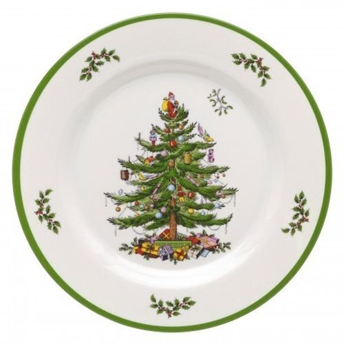 (Spode Christmas Tree Melamine Dinner Plate, Set of 4)