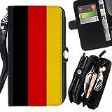 STPlus Germany German Flag Wallet Card H