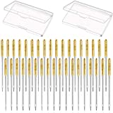 WILLBOND Gold Sewing Machine Needles Pointed Sewing
