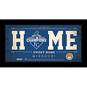Kansas City Royals 2015 World Series Champions 10 Inch X 20 Inch Home Sweet Home Sign