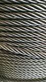 3/4'' Bright Wire Rope Uncoated Steel Cable IWRC 6x26 (150 Feet)
