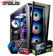 PC Gamer Powered By Asus/Core i9 9900K / Asus ROG Z390-F/RTX 2080 SUPER 8GB / 16GB 4133 MHZ RGB/HD 1TB / SSD M.2 256GB RGB/G