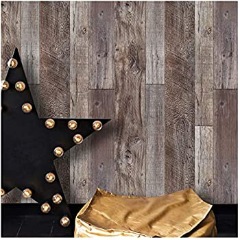 Nuwallpaper Nu1690 Peel Amp Stick Reclaimed Wood Plank