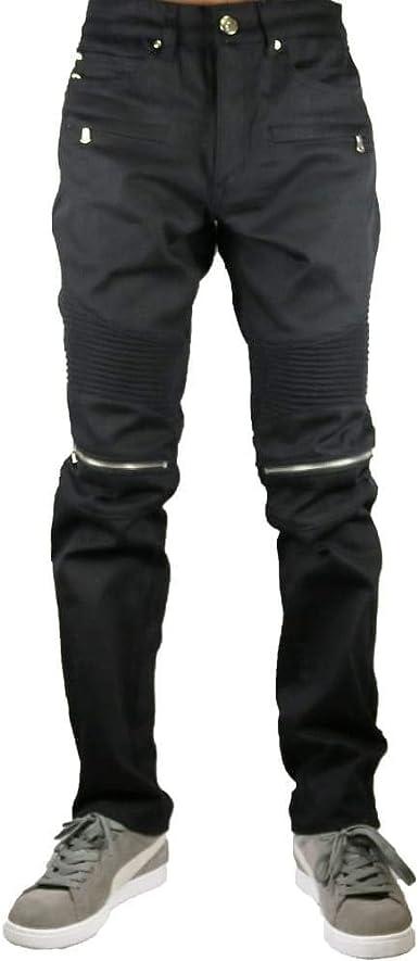 Amazon Com Argonaut Nations Pantalones Vaqueros Para Motociclista Color Negro Clothing