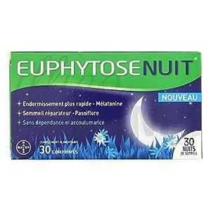 Euphytose Nuit Natural Sleep Aide 30 Tablets
