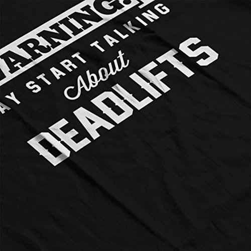 Women's Talking About Start Black Warning May Coto7 Sweatshirt Deadlifts tqH4Y4