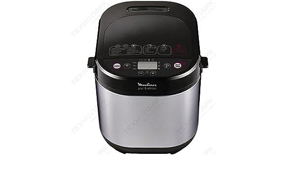 Máquina para el pan Moulinex Pain & Delices ow240e con 20 Programas: Amazon.es: Hogar