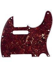 Musiclily 8-håls tele-gitarrplektrumskydd för USA/mexikansk tillverkad fender standard Telecaster modern stil