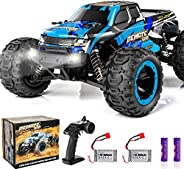 PHYWESS RC Cars Remote Control Car for Boys 2.4 GHZ High Speed Racing Car, 1:16 RC Trucks 4x4 Offroad with Hea