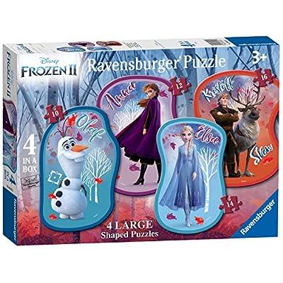 Ravensburger 3025 Disney Frozen 2 4 Grandi Puzzle A Forma Di Puzzle 10121416pc