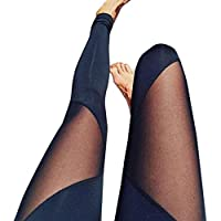 photno Athletic pantalones de mujer Yoga Ejercicio Gimnasio Leggings pantalones elásticos pantalones de deporte