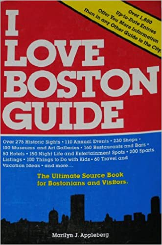 English easy book download I LOVE BOSTON GUIDE PDF iBook PDB