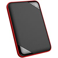 Silicon Power 3TB Ultra Slim Rugged Armor A62L Shockproof/ IPX4 Water-resistant USB 3.0 2.5 Portable External Hard Drive (PS4 Xbox Compatible)