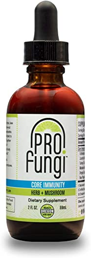 Core Immunity Herb Mushroom Echinacea Turkey Tail Mushroom 2 oz
