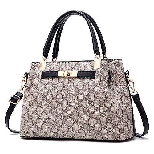 Handbag Shoulder 2 Handbag Female Pu Single Bag Fashion 2018 Printing hlh Personality Rojo Wild Slung vino xqqtZYw