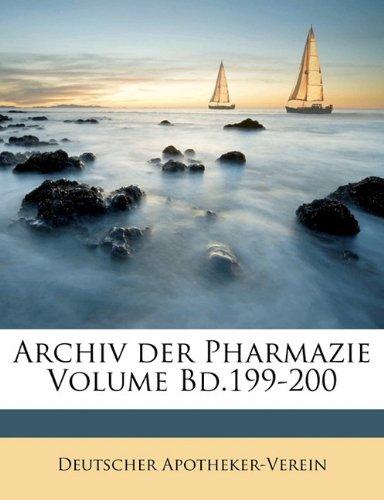 Archiv der Pharmazie Volume Bd.199-200 (German Edition) PDF