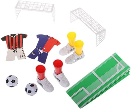 SimpleLife Mesa Creativa Fútbol Fútbol Dedo Fútbol Juego de Dedos ...
