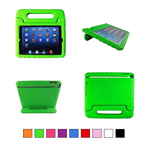 TCD for Apple iPad Mini 1 2 3 with Retina Display iPad Case for Kids Safe Shockproof Protective Stand Light Weight Kids Foam Cover (FREE SCREEN PROTECTOR & STYLUS PEN) by The Case Doctor