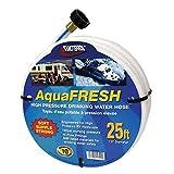 Valterra W01-5300 AquaFresh High Pressure Drinking Water Hose - 1/2' x 25', White
