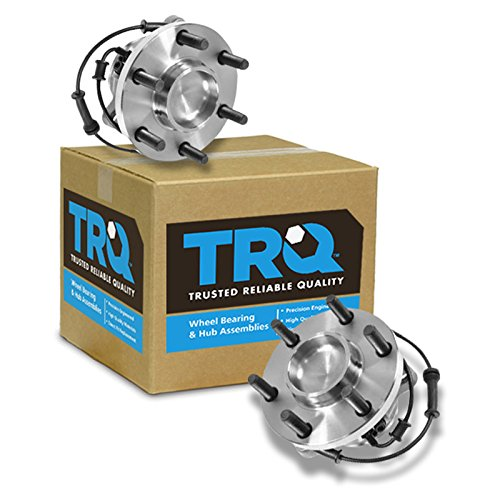 TRQ Front Wheel Hub & Bearing Left & Right Pair Set of 2 For 05-12 Frontier 2WD