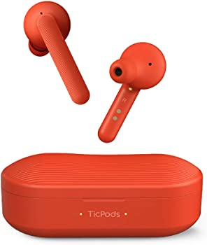 TicPods Free True Bluetooth Earbuds with Charging Case