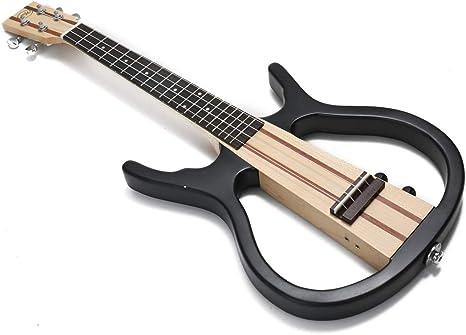 Hermoso sonido 4 cuerdas Ukelelele, 26 pulgadas guitarra eléctrica ...