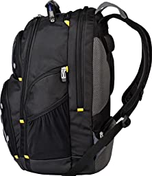Targus Drifter II Backpack for 17-Inch Laptop, Black/Gray (TSB239US)