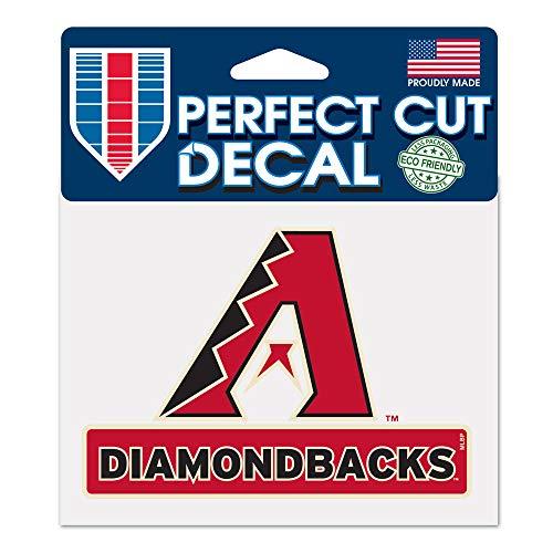 WinCraft MLB Arizona Diamondbacks WCR17764014 Perfect Cut Color Decal, 4.5