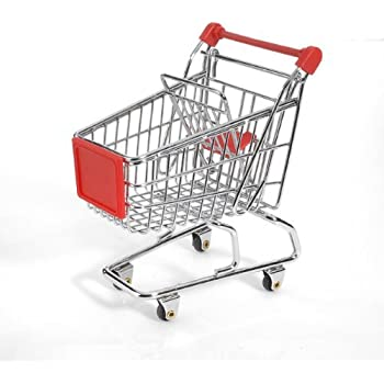 Mini Shopping Cart - Red