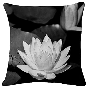 Amazon.com: Water lilies Leaves Pond Shade Close-up - Throw ...