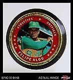 1971 Topps Coins # 8 Felipe Alou Oakland Athletics (Baseball Card) Dean's Cards 4 - VG/EX Athletics