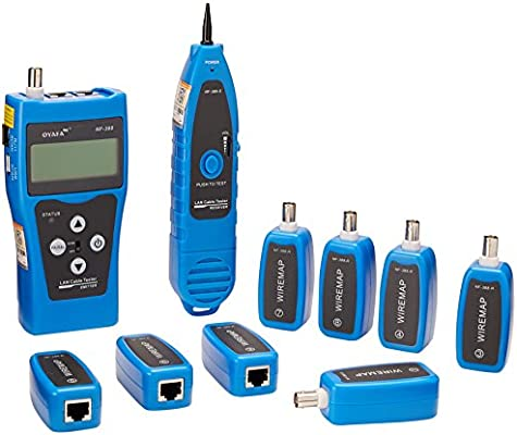 noyafa nf-388-b multipurpose network cable tester tracker tracer test  ethernet: amazon com: industrial & scientific
