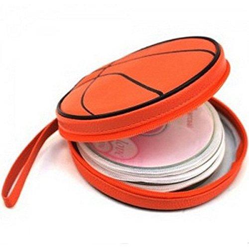 Pink Lizard CD DVD Bag Basketball Case Carrying Holder Organizer 24 Disc Storage
