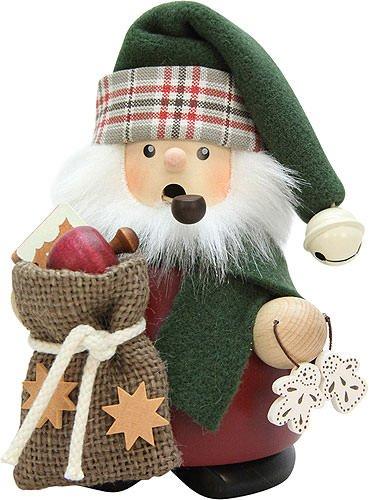 German Incense Smoker Santa Claus with sack - 13,5cm / 5.3inch - Christian ()
