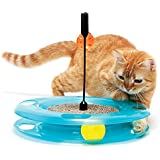 Kitty City Swat Track Cat Toy, 3 Toys in 1 Cat Toy for Cat and Kitty