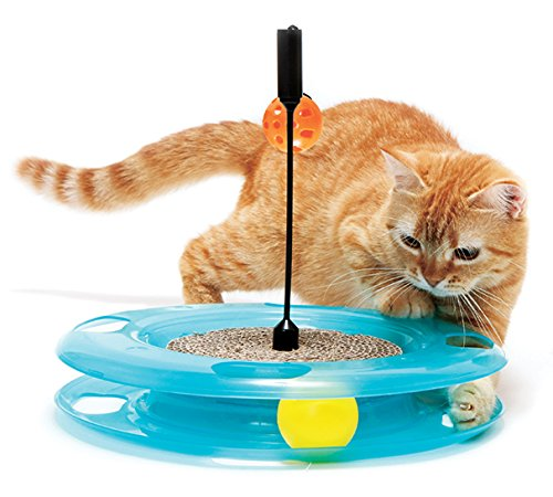 Kitty City Swat Track Cat Toy 3 Toys in 1 Cat Toy for Cat and Kitty