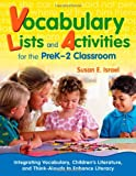 img - for Vocabulary Lists and Activities for the PreK-2 Classroom: Integrating Vocabulary, Children s Literature, and Think-Alouds to Enhance Literacy book / textbook / text book
