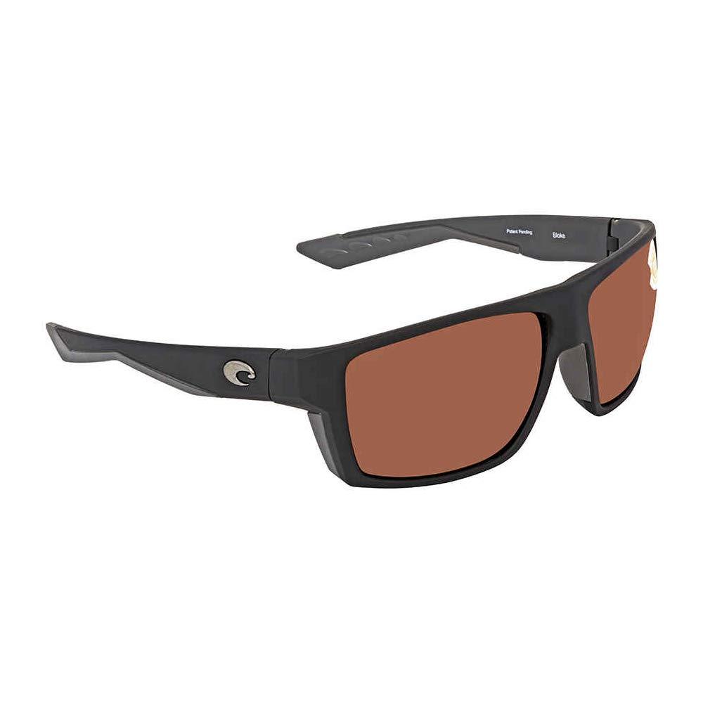Direct BLK125OSCP Costa Del Mar Bloke Sunglasses Matte Retro Tort//Black//Copper Silver Mirror 580Plastic Pro-Motion Distributing