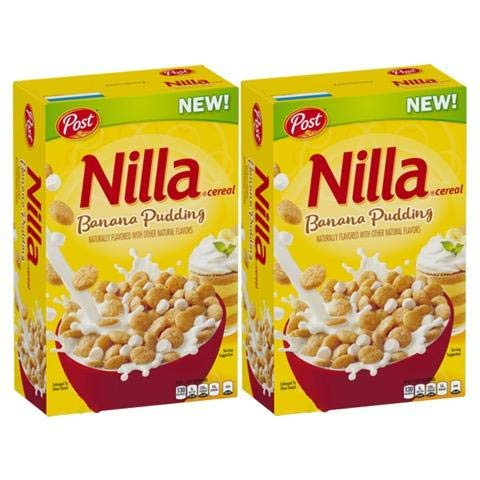 Nilla Banana Pudding Cereal by Post, (Pack of 2) ()