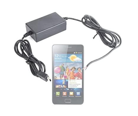 Duragadget Adaptateur chargeur micro USB avec câble dalimentation à installer dans la voiture pour