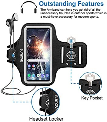 Amazon.com: Brazalete para Samsung Galaxy S10/s9/s8/s7/s7 ...